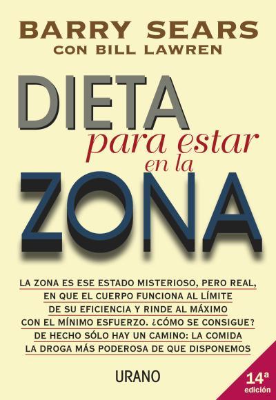 Dieta para estar en la Zona