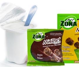 Delicias de MiniRock con yogur y almendras