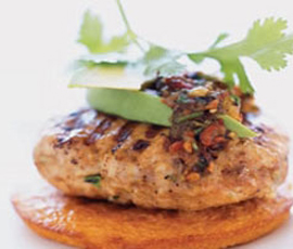hamburguesa-pollo-espinacas