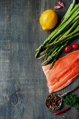 Trenzas de salmón y lenguado