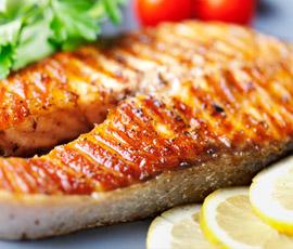 Salmón plancha