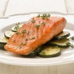 Salmon_con_calabacin_y_mostaza