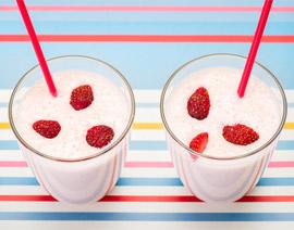 Yogur helado de fresa sin azúcar