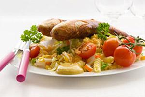 receta-ensalada-pasta-salchicha-soja